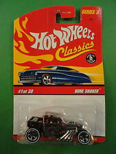 2006 Hot Wheels 1/64 Diecast #1 Bone Shaker Hot Rod Mint on Card BX 45