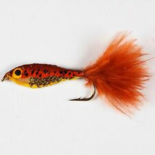 12 EPOXY MINNOWS Rainbow & Brown Trout Perch & Roach Fly Fishing by Dragonflies