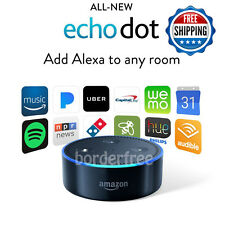 Amazon Echo Dot (2nd Generation) BLACK, w/ Alexa Voice Media Device *Brand New*