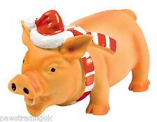 GOOD Boy Festa Natale GRANDI BIG LATTICE Maiale Giocattolo per Cane Animale grunting