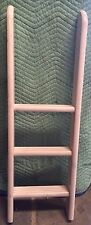 FLEXA 3 STEP WHITE WASH LADDER FOR BUNK BEDS, FLEXA #7140114 OR #80013012 NIB!