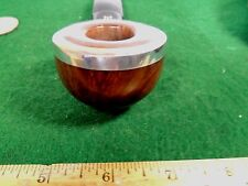 1942-2002 STANWELL SILVER EDGE FAT THICK WIDE NOSE WARMING POT  BEAUTIFUL BRIAR