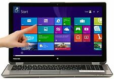 Toshiba 15.6 2-in-1 TouchScreen Intel i7 3.1GHz 12GB 256GB SSD HDMI P55W-B5318 R