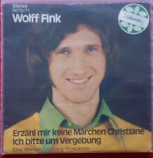 Wolff Fink - Erzähl mir bitte keine Märchen Christiane - RARE !!