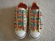 CONVERSE JUNIOR CT LOOP 2-KNOT BUNGEE LIMELIGHT 5.5 EUC