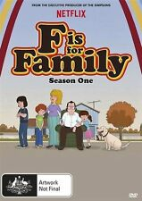 F is for Family Season One NEW R4 DVD