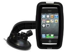 New Pyle PSIC55  iPhone Smartphone Waterproof Case W/ Headphone Jack + Car Mount