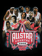 Houston 06-Iverson-Lebron James-Shaquille Shaq-Dwyane Wade-Kobe Bryant-Shirt-XL