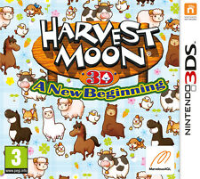 HARVEST MOON A NEW BEGINNING 3DS BRAND NEW SEALED OFFICIAL PAL