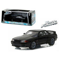 1/43 Greenlight Fast and Furious 1989 Nissan Skyline GT-R R32 86229 Black