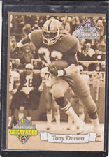 1994  TONY DORSETT - Ted Williams Football Card - # PG1 - Pittsburgh Panthers