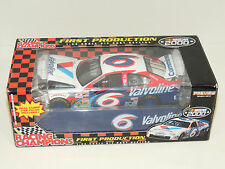 Racing Champions First Production 1:24 Scale Die Cast Valvoline 6 NASCAR 2000
