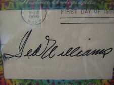 "TED WILLIAMS CUT AUTO--HISTORIC AUTO DECADE OF  THE 70""S  # 9/13"