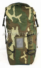 USGI Military Woodland Camo Molle WET WEATHER / COMPRESSION SACK BAG NEW