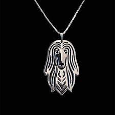 ❤️ Halskette mit Anhänger Afghanischer Windhund, Afghane, Afghan Hound necklace