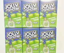 6x JOLLY RANCHER GREEN APPLE DRINK MIX SINGLES TO GO SUGAR FREE (36 PACKETS)