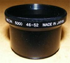 52mm Lens and Filter Adapter for Nikon CoolPix 5000