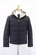 NWT$3295 Brunello Cucinelli Mens Quilted Genuine Goose Down Hooded Puffer Coat M