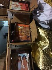Collection of vintage playboy magazines 7 boxes....see list...some 1971- 2003