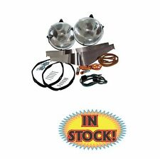 1937-39 Ford Standard Halogen Headlight Conversion Kit 78-13030