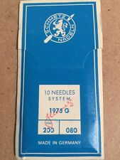 Schemetz 1975 G, 200 / 080 Sewing Machine Needles (Pack of 10 needles)