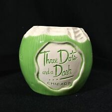 Three Dots And A Dash Young Coconut Tiki Mug Tiki