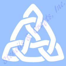 """3"""" CELTIC KNOT STENCIL STENCILS TEMPLATES TEMPLATE BACKGROUND PATTERN NEW #4"""