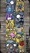 5x15 CONE HEAD, graffiti wall art adventure time bemo lowbrow ringelstetter odd