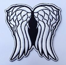 Daryl Dixon Wing The Walking Dead Crest Badge Emblem Embroidered Iron on Patch