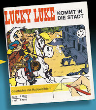 Rubbelbild unos cuantos folletos Luky Luke 1971 letraset > americana kalkitos decotransfer