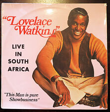 Lovelace Watkins Live in South Africa LP (1971) Gallo GL 1759 very rare obscure