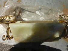 Marble & Brass Soap Dish