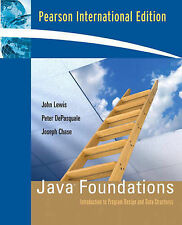 Java Foundations: Introduction Program Design and Data Structures,GOOD Book