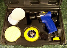 Astro Complete AIR SANDER and POLISHER TOOL with ACCESSORIES and CASE polishing