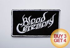 BLOOD CEREMONY WT PATCH BUY 3 GET 4,GHOST,JEX THOTH,ELECTRIC WIZARD,THE DEVIL'S