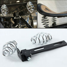 "Motorcycle SOLO Seat 3"" Springs Bracket Mounting Kit For Harley Chopper Bobber"