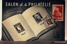 CPA MAXIMUM  POSTCARD MUSÉE POSTAL  SALON DE LA PHILATELIE 1946  Yy 753