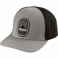 New Patagonia Vesper Roger That Snapback Hat Cap Drifter Grey/Black