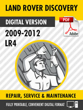 2009 - 2012 LAND ROVER DISCOVERY LR4 FACTORY SERVICE REPAIR MANUAL / WORKSHOP