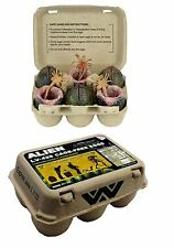 NECA ALIENS XENOMORPH ALIEN EGG SET in COLLECTIBLE CARTON with FACEGUGGERS x 3