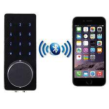 Mobile Bluetooth Deadbolt Entrance Smart Electronic Digital Door Lock Security