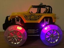 4X4 Off Road Monster Truck Recargable De Radio Control Remoto Coche Stunt Chicas coche