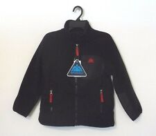 NEW SNOZU Boys' Novelty Fleece Jacket Black/Red XS 5/6