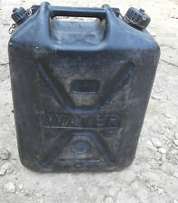 MOD 20 25 Litre Water Carrier Cans Jerry Can Container Rugby Football Sports