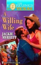 A Willing Wife No. 4 by Jackie Merritt (1999, Paperback)