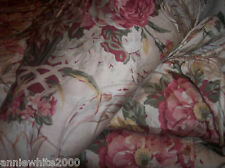 RALPH LAUREN GUINEVERE COTTON SATEEN King DUVET COVER bedroom  xc browns multi