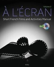 A l'ecran: Short French Films and Activities , Volume 2 (with DVD)