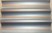Patisse Moule de cuisson plaque baguette Feuille 38x25 cm, idéale pour Thermomix