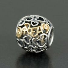 "Pandora disney ""Dream"" open work charm(s925 Ale Genuine)"