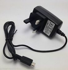 Genuine MAINS SAMSUNG HTC LG HUAWEI PHONE 3 PIN UK WALL PLUG CHARGER ADAPTER